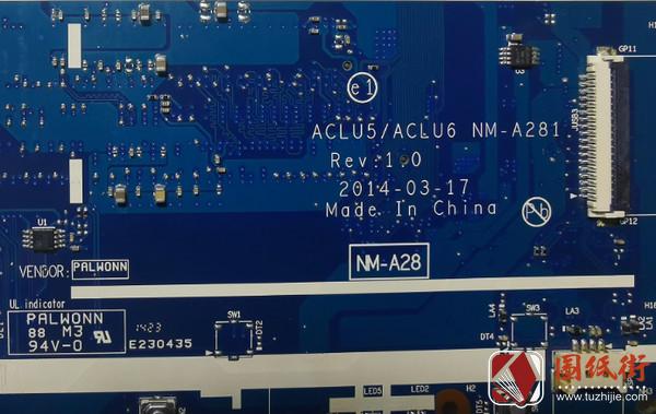 联想G50-45 ACLU5 ACLU6 NM-A281 Rev.1.0 独显BIOS资料