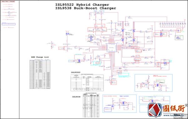ISL9538H芯片电路原理图