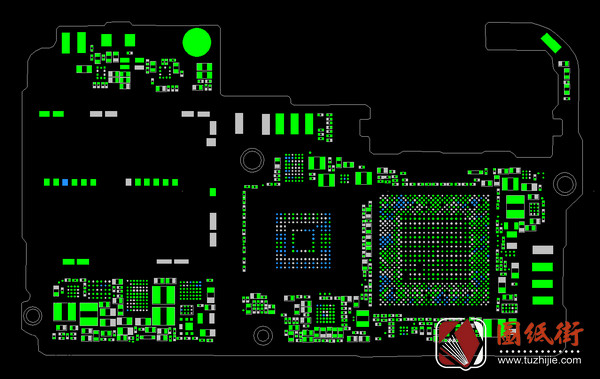 荣耀Honor10手机PCB点位图