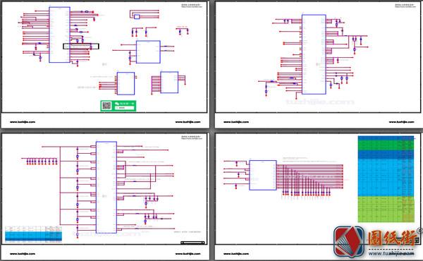 荣耀8x MAX手机图纸-电路原理图+位号图