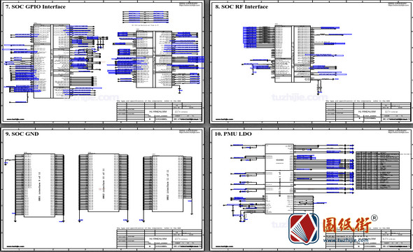 Mate 10 Lite HL1RNEAL00M手机电路原理图纸