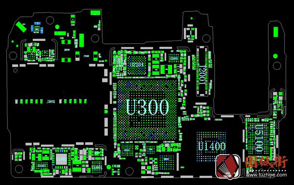 华为P20手机点位图PCB