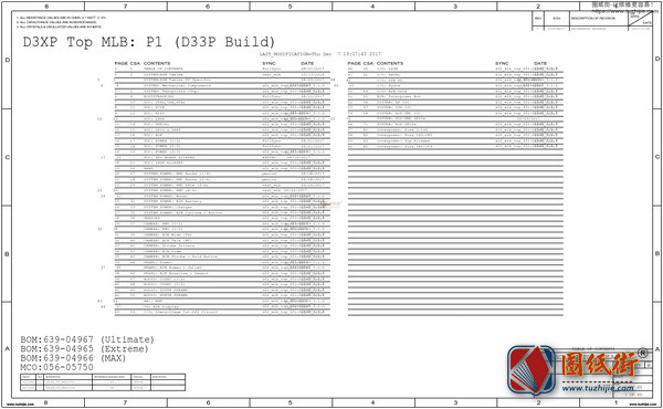iPhone XS Max A2101 820-01225 051-03228苹果手机电路原理图纸