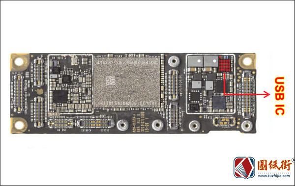 iPhone 11 USB IC 对地阻值