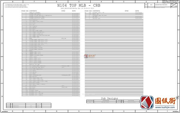 苹果iPhone 11 820-01523 N104 手机电路原理图