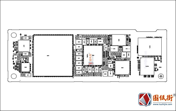 苹果iPhone 11 820-01523 N104 手机电路原理图+位号图