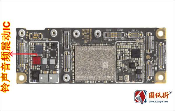 iPhone11 铃声音频震动IC对地阻值