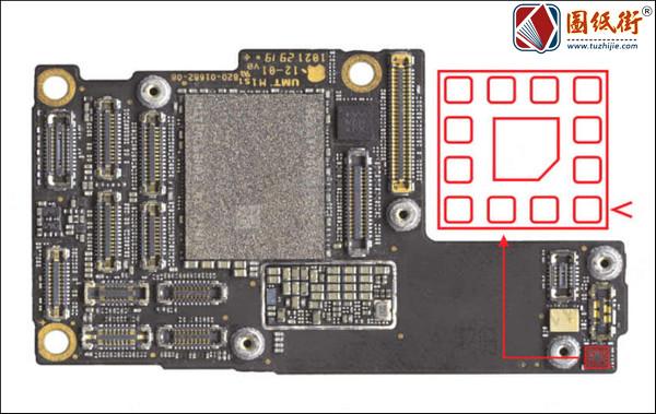 iPhone11Pro 下天线滤波器对地阻值-手机维修资料下载