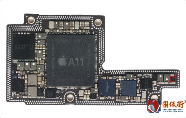 iPhoneX U4120闪光灯对地阻值图