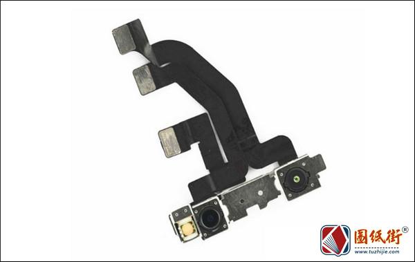 iPhoneX红外排线接口对应脚图