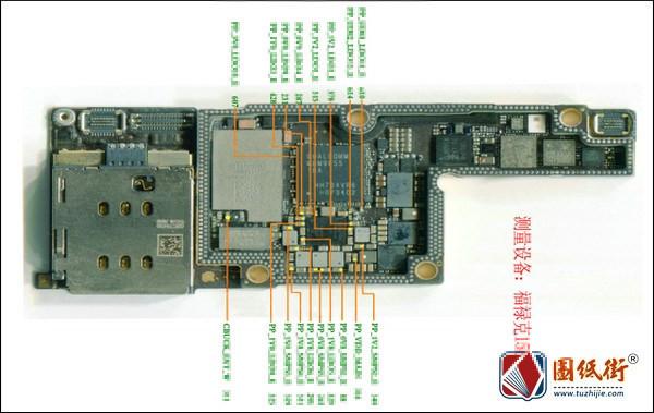 iPhoneX供电标注阻值图