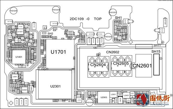 OPPO A3主板小板位号图+小板电路图纸