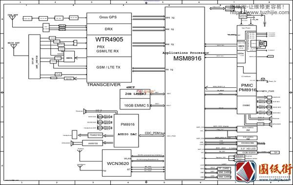 OPPO A37 2DA077手机主板图纸+位号图