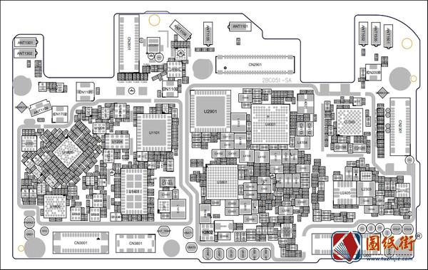 OPPO A57手机维修资料位号图