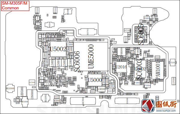 Galaxy M30 SM-M305F三星手机图纸资料