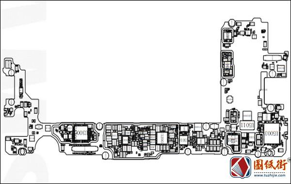 三星S10 SM-G975F主板位号图位置图-逻辑框图