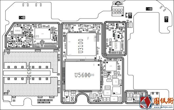 小米9se主板元件位号图