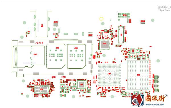 RedMi红米9A维修图纸-位号图