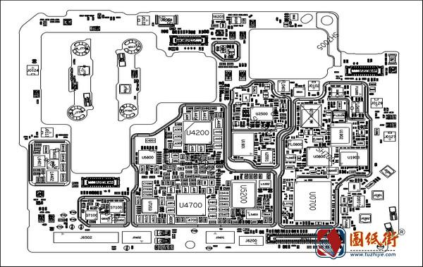 小米Xiaomi Mi 11手机图纸-电路原理图+位号图