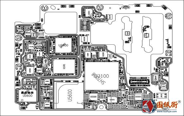 小米Xiaomi Mi 11手机图纸-位号图