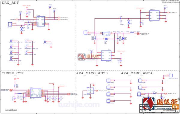 小米8后指纹版电路原理图纸