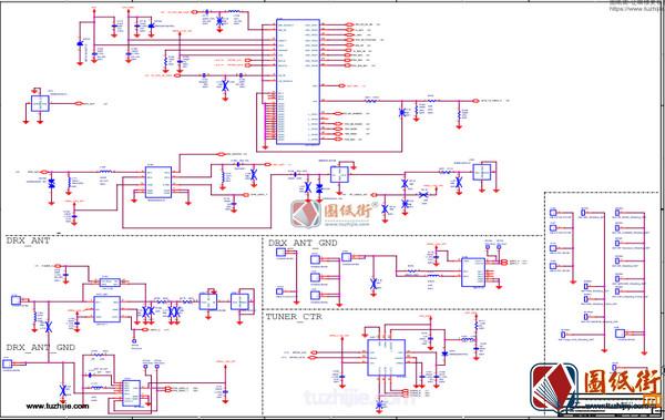 小米8青春版电路原理图纸