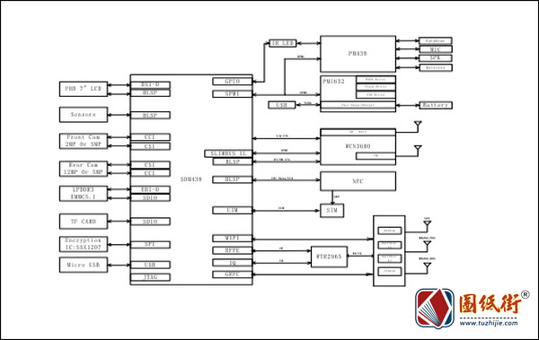 小米红米7A手机电路原理图纸