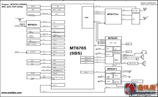 红米6A RedMi6A手机电路原理图纸