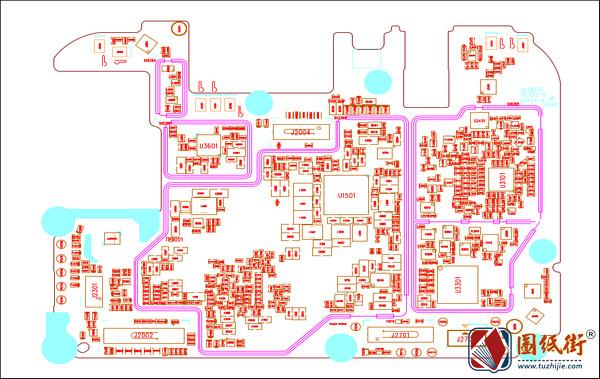 红米Redmi 7主板位号图