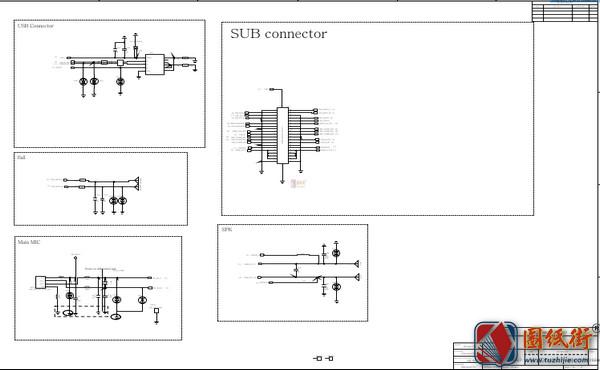 小米Note6Pro手机图纸-小板电路原理图