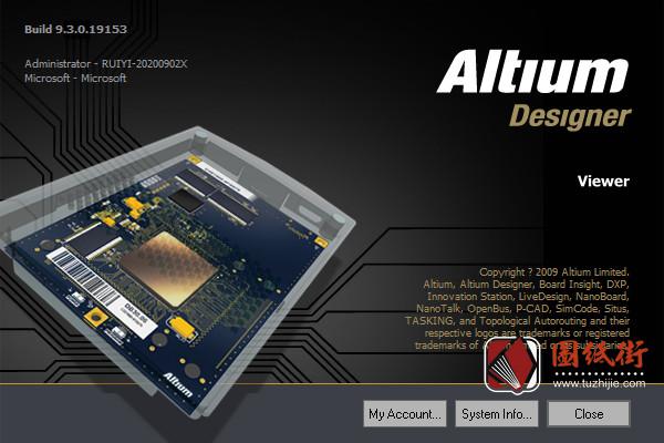 Altium Designer Viewer Build9.3.0.19153 pcbdoc点位图查看软件