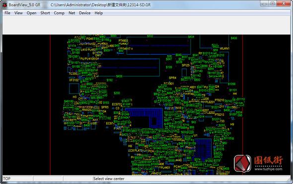 BoardView_5.0(GR)GR格式点位图查看软件