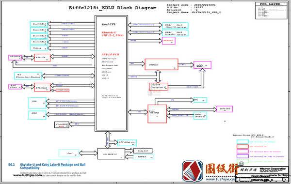Acer Aspire C22-860 AiO Wistron EIFFEL215I_KBLU 16557-1宏基一体机图纸+BIOS资料