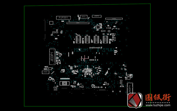 Acer ES1-533 B5W1A B7W1A LA-D641P Rev 1.0宏基笔记本点位图