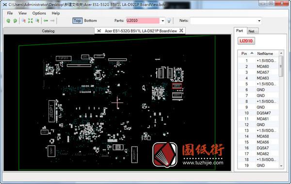 Acer ES1-532G B5V1L LA-D921P笔记本点位图