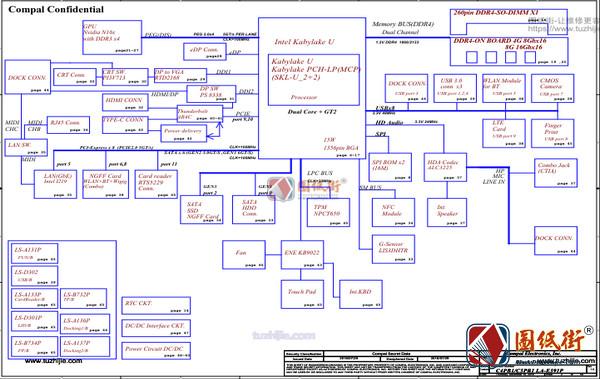 Acer TravelMate P658 LA-E591P Rev 1.0宏基笔记本图纸