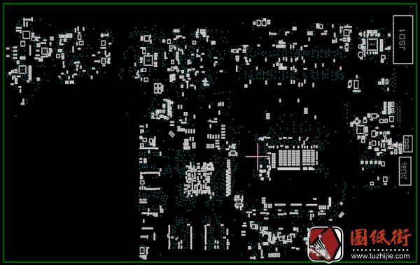Acer Nitro AN515-52 LA-F951P Rev 1A笔记本点位图