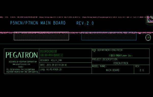 Acer Predator 15 G9-591G P5NCN_P7NCN掠夺者笔记本点位图