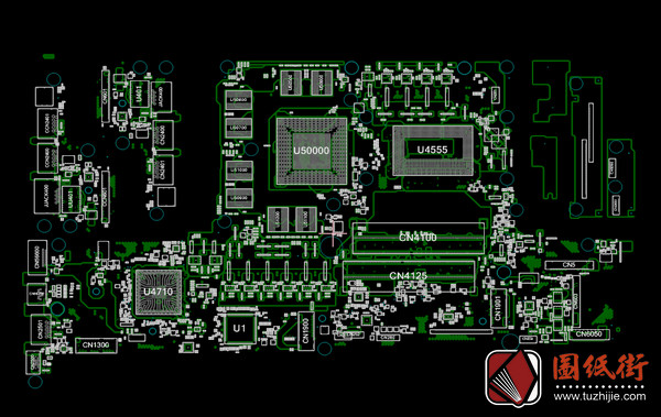 Acer Helios 300 PH317-54 6050A3087503-MB-A01宏基掠夺者笔记本点位图CAD