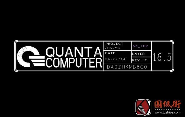 Quanta ZHK DA0ZHKMB6C0 REV C宏基笔记本点位图