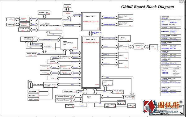 Acer Triton 500 Ghibli_CFS REV SC宏基笔记本图纸
