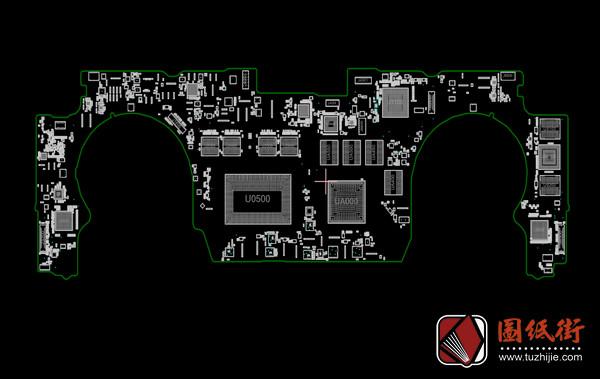 APPLE A1707 J80G 820-00281 051-00647苹果笔记本点位图