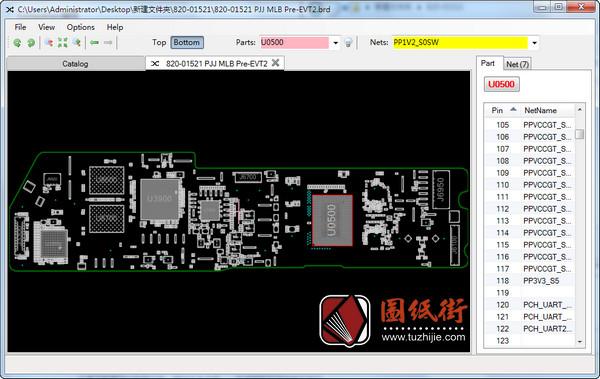 Apple A1932 820-01521 PJJ MLB Pre-EVT2苹果笔记本点位图