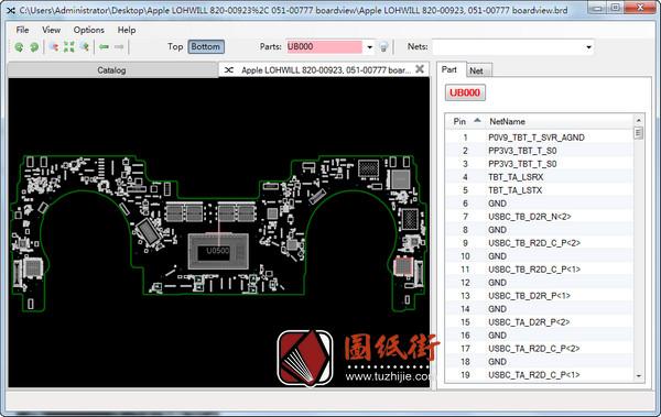 Apple A1706 820-00923 051-00777苹果笔记本点位图