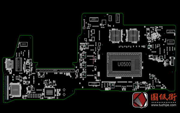 Apple A1708 X502MLB 820-00875苹果笔记本点位图