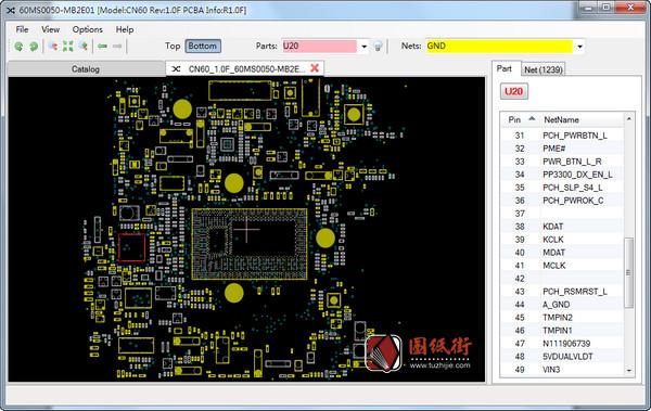 Asus CN60 Rev1.0F华硕mini机点位图