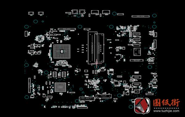 Asus ET2221AUTR 21.5 AiO Rev1.2华硕主板点位图