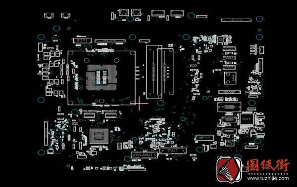 Asus ET2221I Rev1.2华硕主板点位图