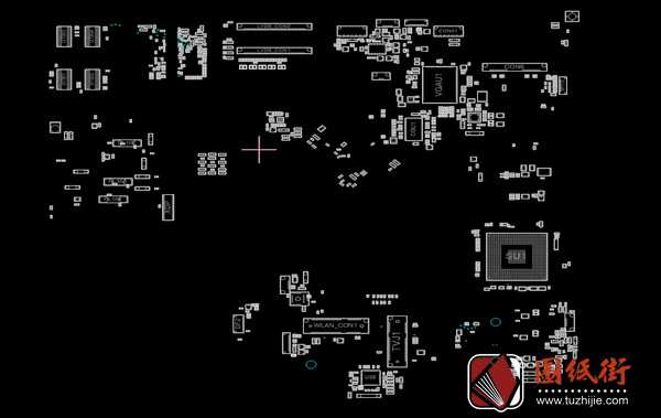 Asus EeeTop PC AiO ET2400E Rev 2.00G主板点位图