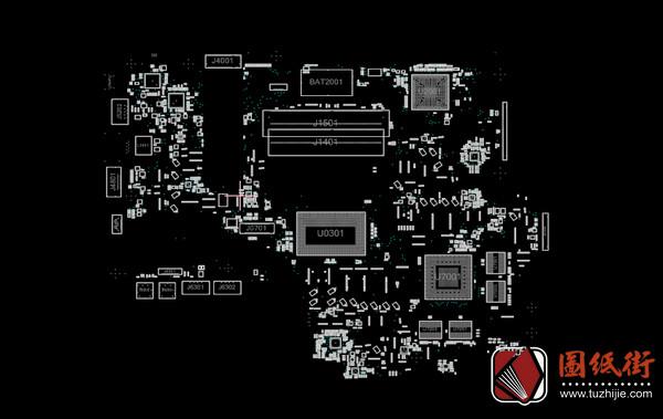 Asus GL752VW Rev 2.0华硕笔记本点位图+维修手册
